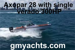 Axopar 28 T-Top Miami (Video von gmyachts.com)