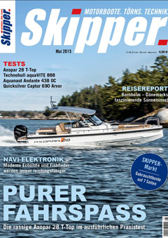 Axopar 28 T-Top Test Skipper 05/2015