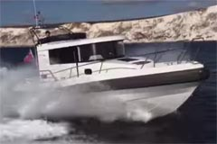 Motor Boat Yachting Video